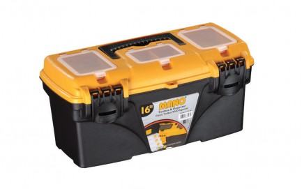 C.O-16 Classic Toolbox With Organizer 16