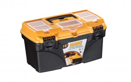 C.O-18 Classic Toolbox With Organizer