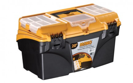 """T.O-20 Toolbox With Internal Tray 20"""""""