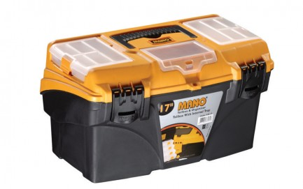 """T.O-17 Toolbox With Internal Tray 17"""""""