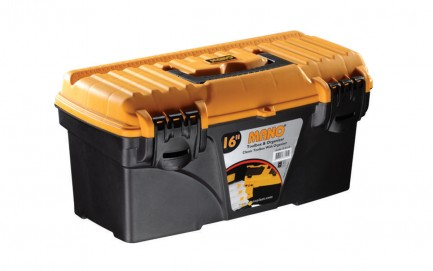 """C.S-16 Classic Toolbox With Flat Lid 16"""""""