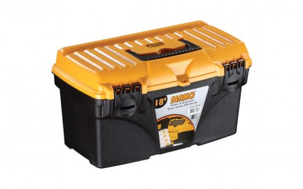 """C.S-18 Classic Toolbox With Flat Lid 18"""""""