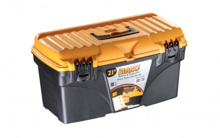 """C.S-21 Classic Toolbox With Flat Lid 21"""""""