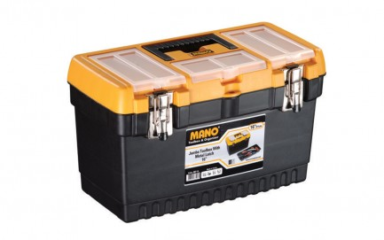 JMT-16 Jumbo Toolbox With Metal Latch 16""