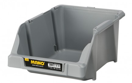 G-25 Storage Bins Grey