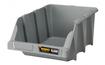 G-35 Storage Bins Grey