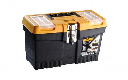 """JMT-13 Jumbo Toolbox With Metal Latch 13"""" Share"""