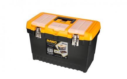 "JMT-19 Jumbo Toolbox With Metal Latch 19"""