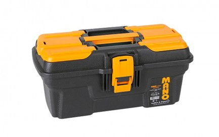 MG-13 Mano Grip Toolbox with Metal Latch 13""