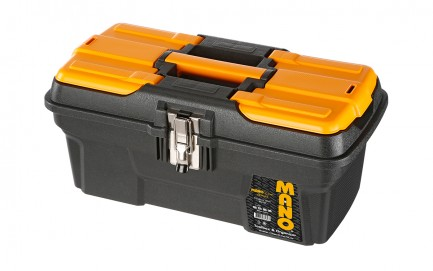MG-16 Mano Grip Toolbox with Metal Latch 16""