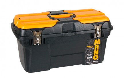 """MG-22 Mano Grip Toolbox with Metal Latch 22"""""""