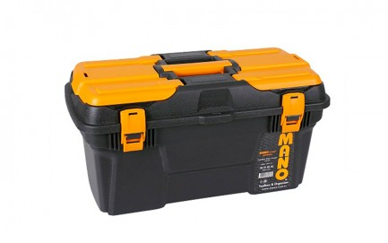 """MGP-19 Mano Grip Toolbox with Plastic Latch 19"""""""