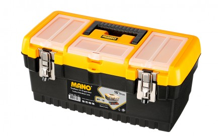 MT-16 Toolbox With Metal Latch 16""