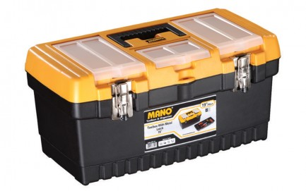 MT-19 Toolbox With Metal Latch