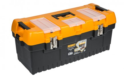 MT-26 Toolbox With Metal Latch 26""