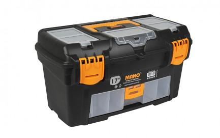 "R.O-17 Toolbox With Drawer & Organizer 17"""