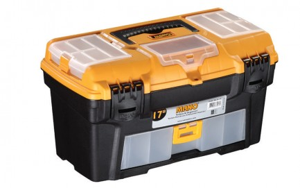 RL.O-17 Toolbox With Drawer & Removable Organizer 17""