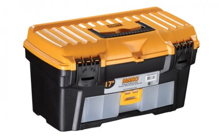 """R.S-17 Toolbox With Drawer & Flat Lid 17"""""""