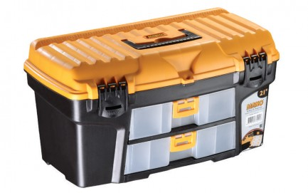 """R.S-21 Toolbox With Drawer & Flat Lid 21"""""""