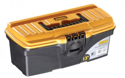 """C.S-13 Classic Toolbox With Flat Lid 13"""""""